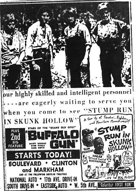 """""""Stump Run in Skunk Hollow""""/""""Buffalo Gun"""""""