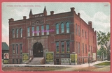 circa 1910 post card view of the old Opera House, in Cherokee, Iowa