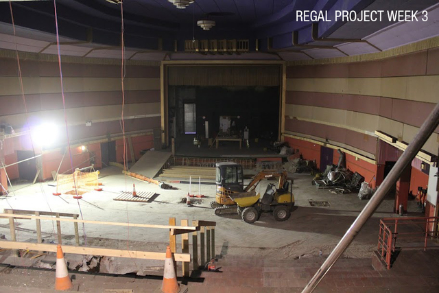 Main Auditorium (during renovations)