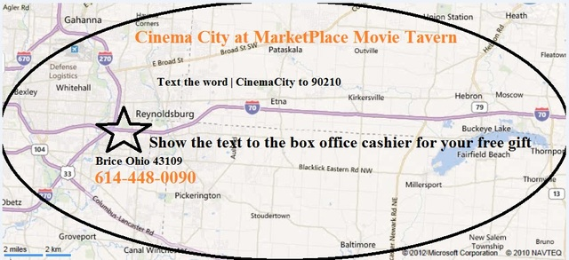 Cinema City at MarketPlace Movie Tavern 5737 Brice Outlet Mall Way Columbus Oh 43232