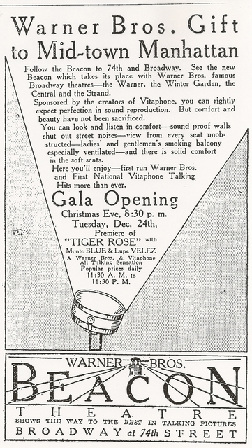 Pre-opening Ad