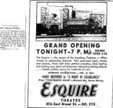 """Grand Opening Tonight - 7 P. M."""