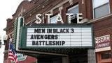 State Theatre, Sycamore, IL - marquee
