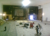 Inside the old Strand Theater