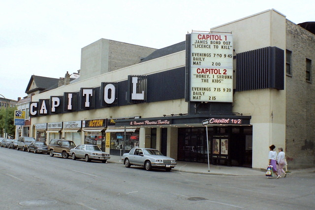 In movie theatres winnipeg