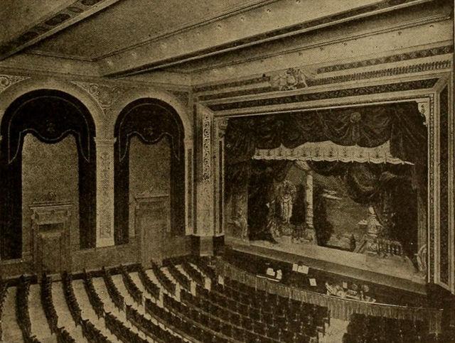 Allston Theatre Interior, ca1915