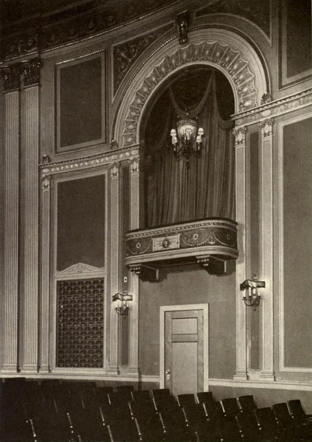 State Theatre, Detail of Box, 1922