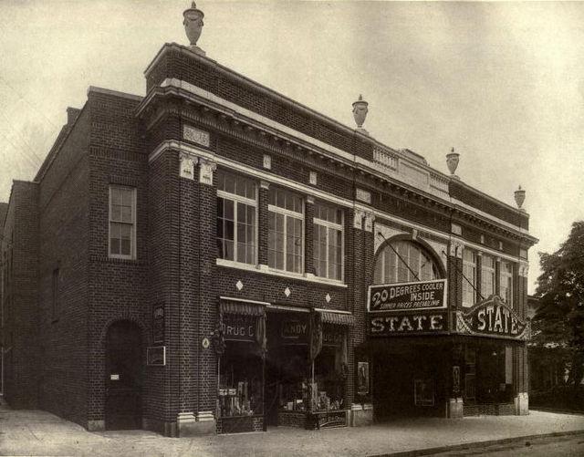 Facade, State Theatre, 1922