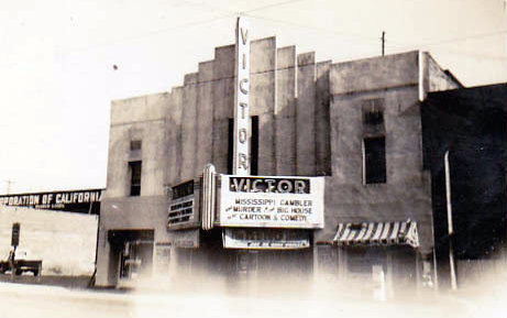 VICTOR Theatre, Los Angeles, California, in 1953.