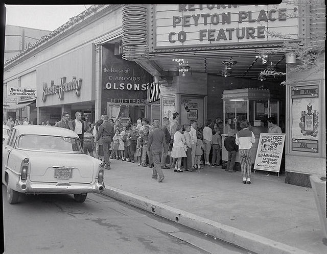 McDONALD Theatre, Eugene, Oregon in 1961.