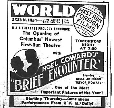 """The Opening of Columbus' Newest First-Run Theatre"""