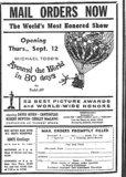 """""""Opening Thurs., Sept. 12"""""""