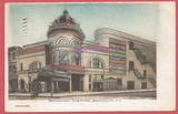 1909  post card view of the Broadway Theatre