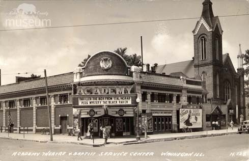ACADEMY Theatre, Waukegan, Illinois in 1943.