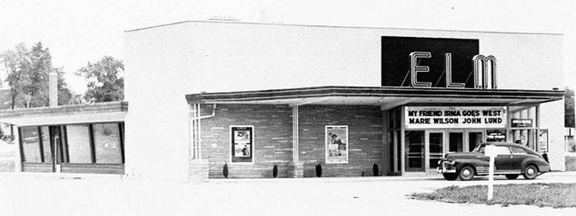 ELM Theatre, Wauconda, Illinois in 1950.