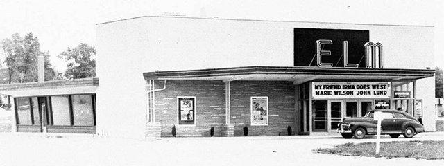 ELM Theatre, Wauconda, Illinois in 1950.