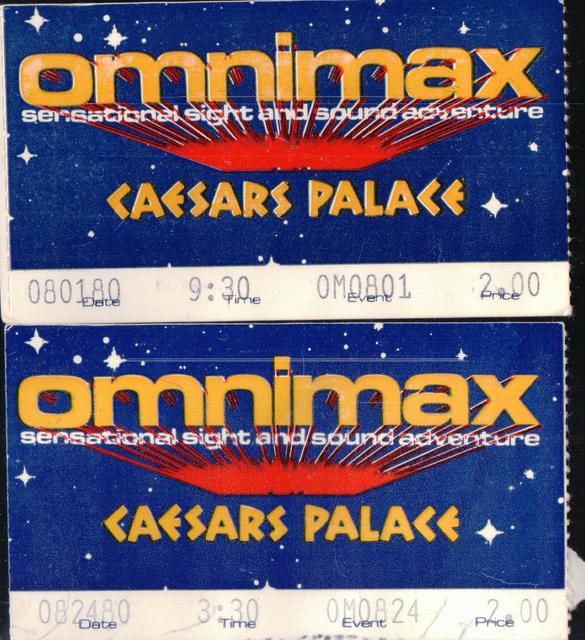 OmniMax Theatre at Caesars Palace