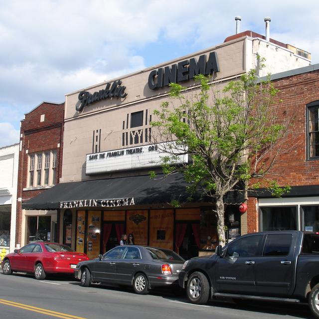 Franklin Theatre, Franklin, TN - pre-restoration