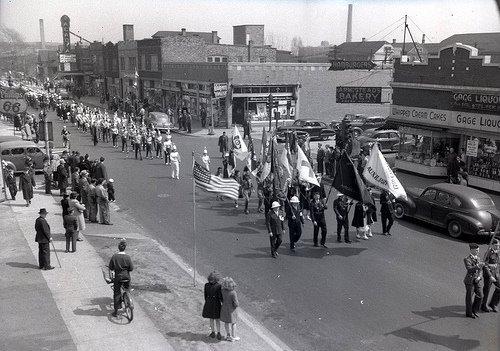 Acadia Theatre, 1940s.