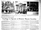 """CineSatage to Operate at Historic Theater Location"""