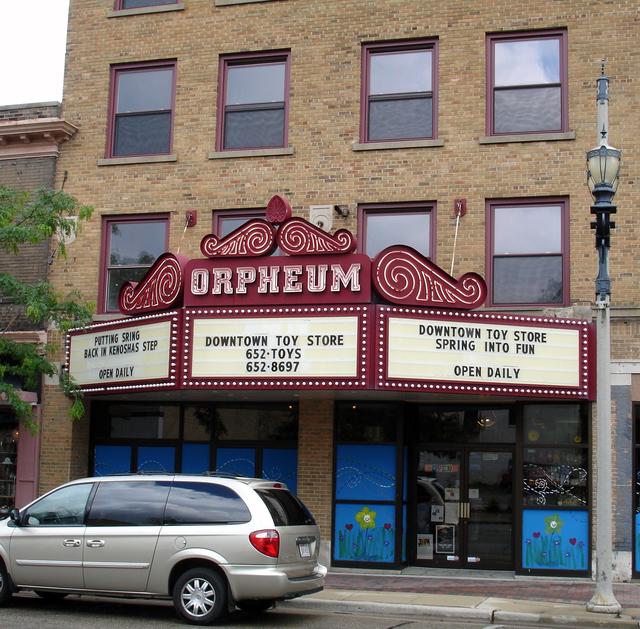 Orpheum Theatre, Kenosha, WI