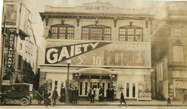 Gaiety Theatre, 1918