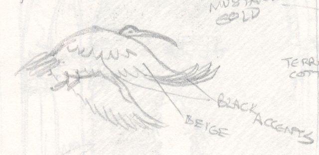 Ibis Sketch