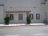 Poster display, left side of the UltraStar Poway 10 Cinemas