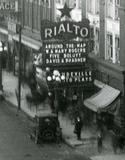 RIALTO Theatre, Racine, Wisconsin, 1920s.