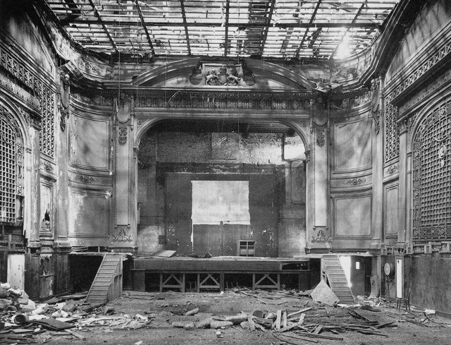 Theatre Royal Bradford being demolished