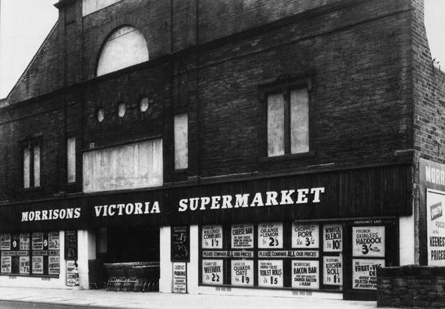 Victoria cinema converted to a supemarket