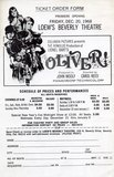OLIVER! Reserved Seat Engagement at the LOEW'S Beverly Theatre