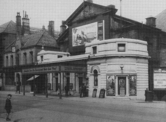 Theatre Royal in its early years as a cinema, 1920s