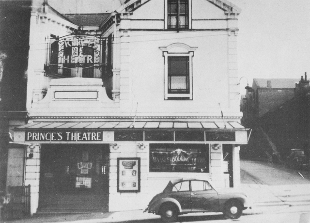 Prince's Theatre in the 1950s