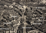 Aerial view of Bradford centre post WW2