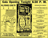 Chester Pike Drive-In Grand Opening Ad