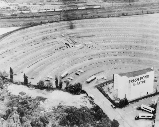 FRESH POND Drive-In Theatre, Cambridge, Massachusetts.