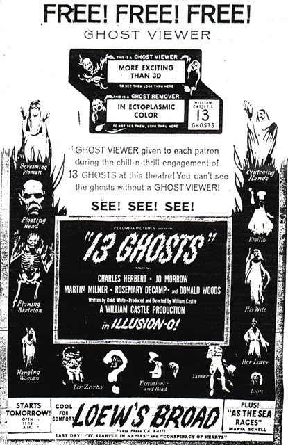 """13 Ghosts"""