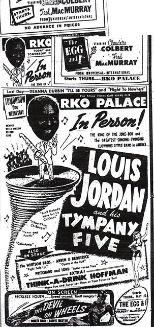 """Louis Jordan""/""The Egg and I"""