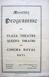 Cinema Royale Programme