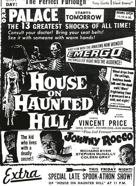 """House on Haunted Hill""/""Johnny Rocco"""