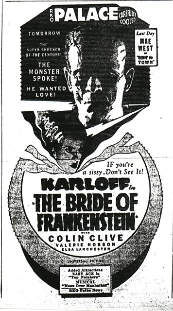"""Bride of Frankenstein"""
