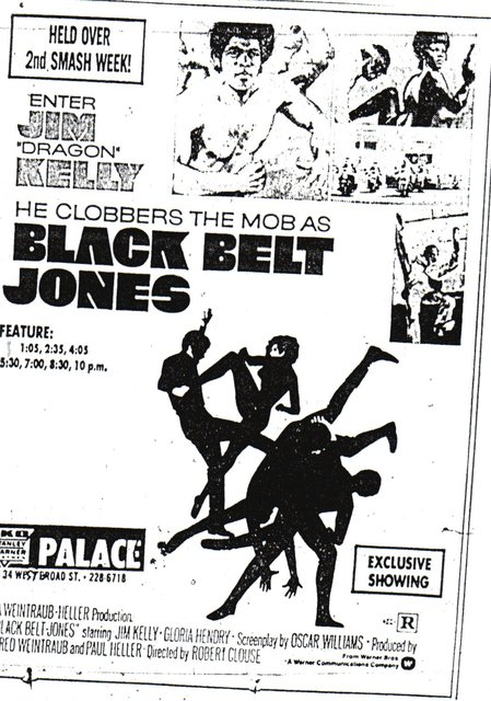 """Black Belt Jones"""