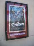 Avengers playing at the UltraStar Poway 10 Cinemas