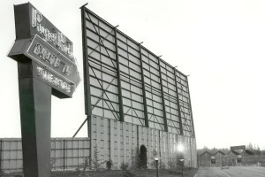 Puget Park Drive-In entrance