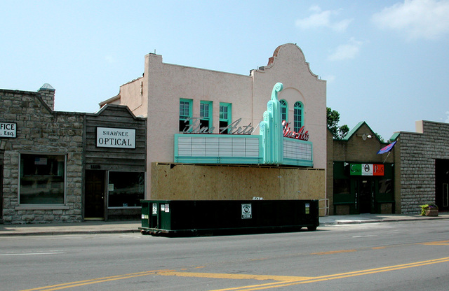Fine Arts Theater Being Remodeled