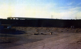N.E. Expressway Drive-In Theatre with screen torn down