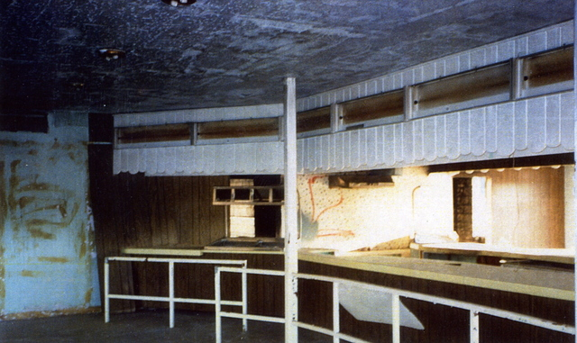 N.E. Expressway Drive-In Theatre (remains of the concession stand)