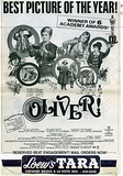 OLIVER! Reserved Seat Engagement AD at the LOEW'S TARA Theatre  