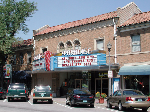 Paradise Theatre Now the Screenland Armour